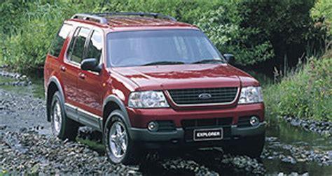 2002 Ford Explorer Recalls by Ford Explorer Ford Recalls Explorer Goauto