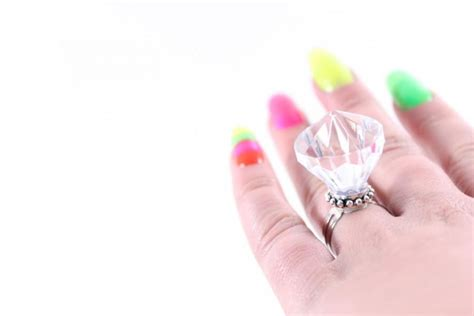Fake Diamond Engagement Ring Plastic Rock Novelty. Greek Wedding Rings. Mario Wedding Rings. Browns Rings. 3.5 Carat Rings. Wavy Band Engagement Rings. Synthetic Wedding Rings. Thick Rings. Zircon Wedding Rings