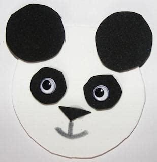 panda crafts for preschoolers pandas 496