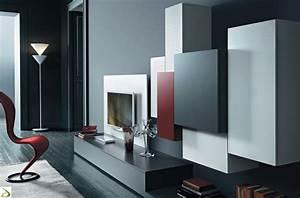 Parete attrezzata moderna Quadrid Arredo Design Online