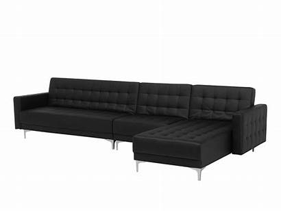 Ottoman Aberdeen Modular Faux Sofa Leather Left
