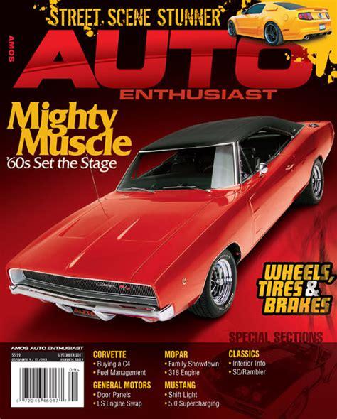 Auto Enthusiast Magazine Cover