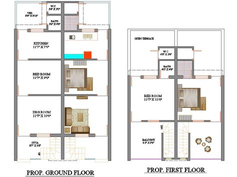 Row house community development corporation (row house cdc), formed in august 2003 as a sister organization to project row houses, is based in houston'. 2 BHK Row House Furniture Layout Plan AutoCAD File - Cadbull