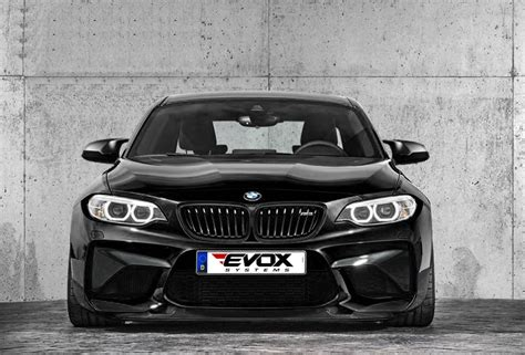 this bmw m2 was tuned to 410 horsepower