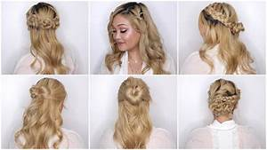 Easy Valentines Day Hairstyles YouTube