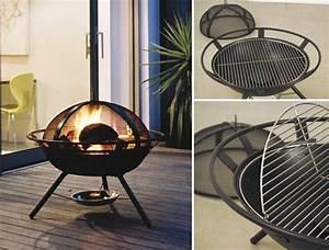 Brasero De Terrasse : terrasse chauffage terrasse brasero panier accueil ~ Premium-room.com Idées de Décoration
