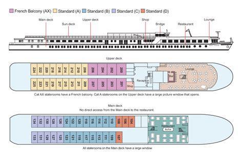Cruises Deck Plans by Viking Schumann