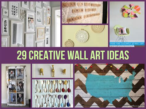 creative wall decor ideas 29 creative wall ideas