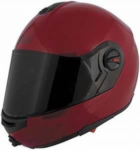 Speed Strength Ss1700 Modular Motorcycle Helmet Wine Red