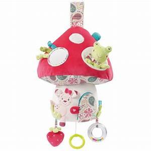 Mobile Bébé Lumineux Et Musical : babysun jouet b b eveil musical et lumineux champignon ~ Teatrodelosmanantiales.com Idées de Décoration