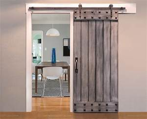68 tall plank barn door with square clavos modern With barn doors tampa