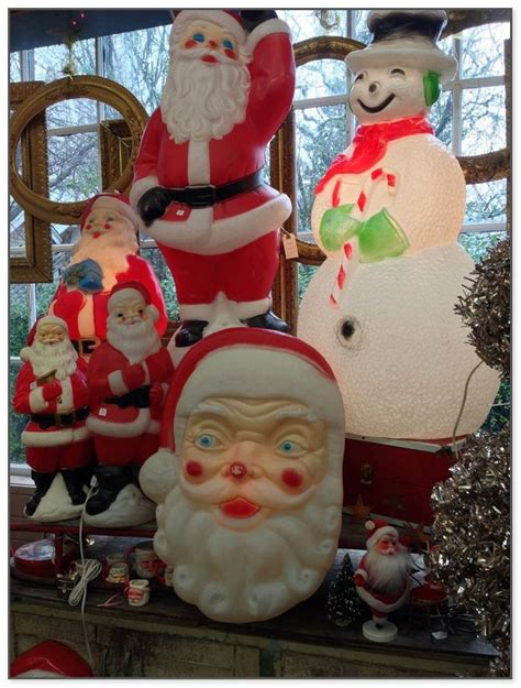 plastic molded christmas outdoor decorations