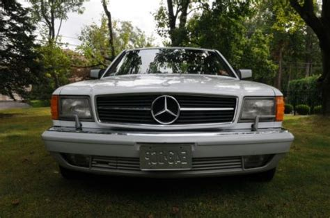 how to sell used cars 1991 mercedes benz sl class electronic toll collection sell used 1991 mercedes benz 560sec in colts neck new jersey united states