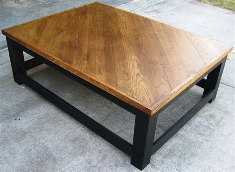 Hometalk  Oversized Coffee Table And End Tables Made