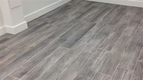 Gray Wood Flooring In Grey Floors Modern Interior Design