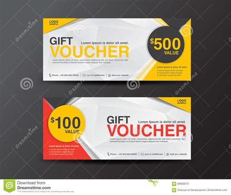 gift voucher template coupon designticketdiscount