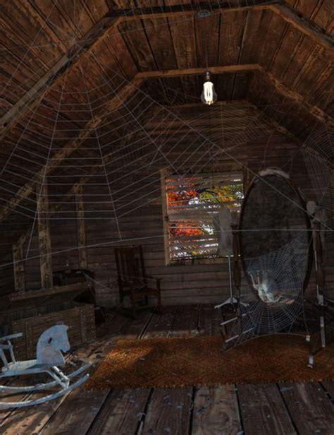 creepy attic