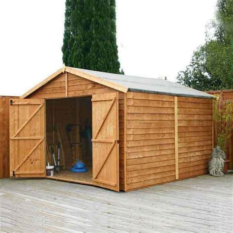 used sheds 15 x10 garden shed wood storage windowless wooden sheds