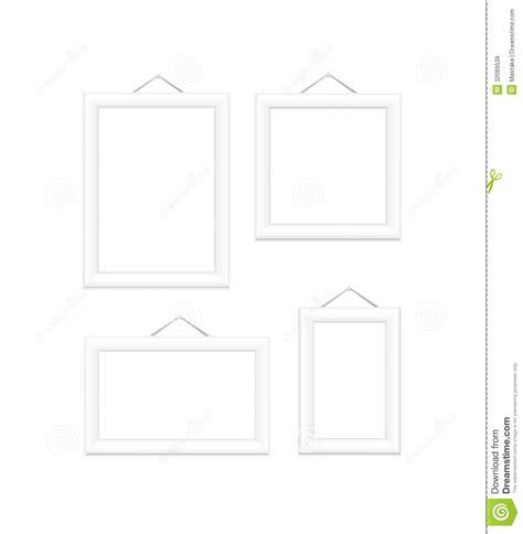 cornici bianche cornici bianche immagini stock libere da diritti