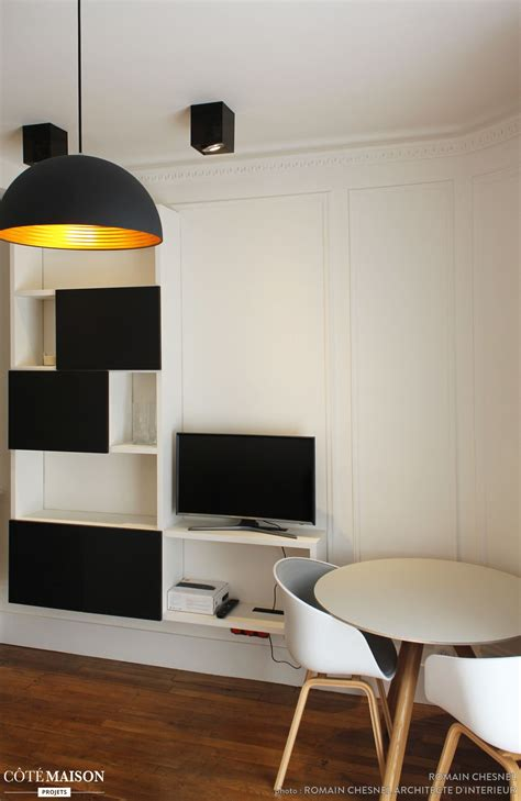 design scandinave  couleurs neutres studio petit