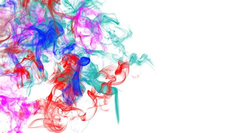 Abstract smoke colors swirl psychedelic painting artistic