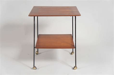 end table with wheels italian side table with wheels for sale at 1stdibs