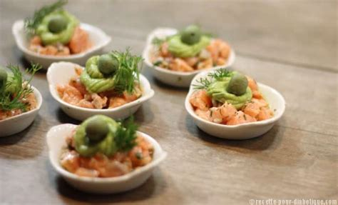 cuisine creole tartare de saumon et avocat en apéritif