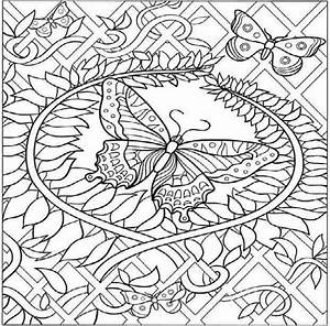 Animal Coloring Pages For Adults Hard Butterfly Coloring