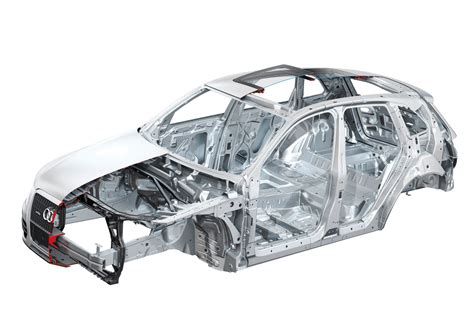 Audi Q5 – Body Structure Materials (BIW) – Boron Extrication