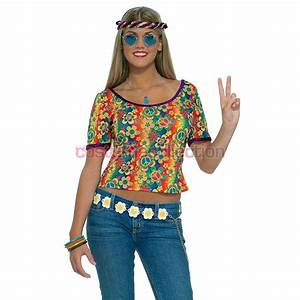 1960s Clothing Hippie Shirt