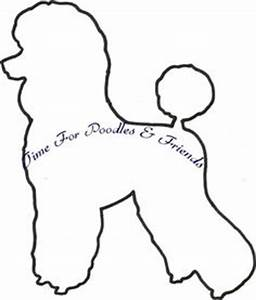 dog face pattern use the printable outline for crafts With poodle applique template