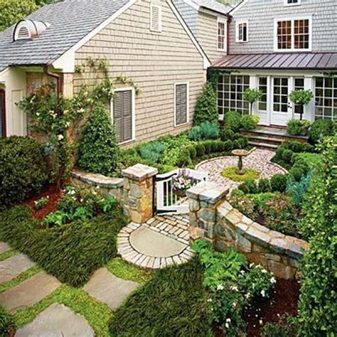 Picturesque Courtyard Garden by Picturesque Garden Entrance Margie Grace Hgtv Front Yard