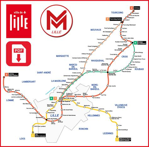 Carte Metro Pdf by Carte Metro Lille Pdf My