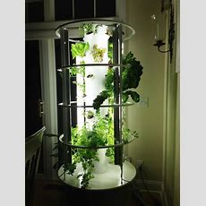 The Tower Garden Simplifies Traditional Gardening, Using A