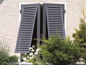 Volet Aluminium Persienne : volets battants aluminium lames fixes ~ Edinachiropracticcenter.com Idées de Décoration