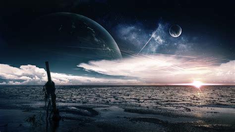 wallpaper sea   wallpaper ocean night moon