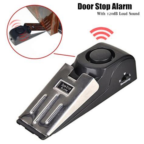 door stop alarm door stop stand alone alarm