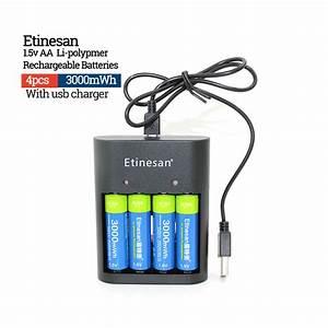 New Lifepo4 Lithium Li Ion Batteries 4 Parts Etinesan