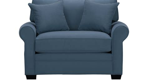 Large Armchair by 555 00 Bellingham Indigo Chair Oversized