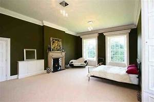 Olive green bedroom (photos and video) WylielauderHouse com