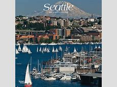 Seattle 2019 12 x 12 Inch Monthly Square Wall Calendar