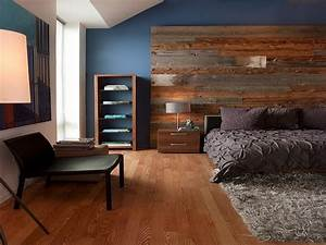 Partial Wood Wall Feature Walls In Living Rooms Images
