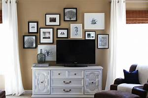 Lisa mende design how to decorate around a flat screen tv
