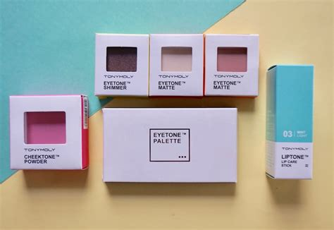 Harga Makeup Tony Moly tony moly pantone inspired makeup collection review