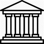 Courthouse Easy Court Supreme Branch Judicial Clipart