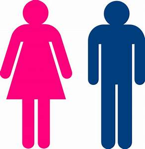 boy girl clip art at clkercom vector clip art online With male female bathroom sign images
