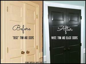 remodelaholic decorating with black 13 ways to use dark With kitchen colors with white cabinets with black wrought iron wall art