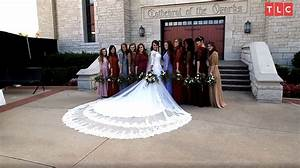 Jinger Duggar's Wedding Dress Designer on Why Train Was So