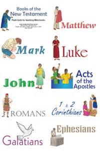 Bible Books Flash Cards Printable