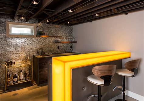 extravagant contemporary home bar designs